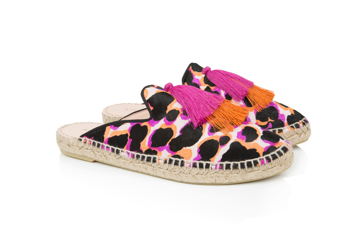Souk Bright Leopard espadrilles | Air & Grace