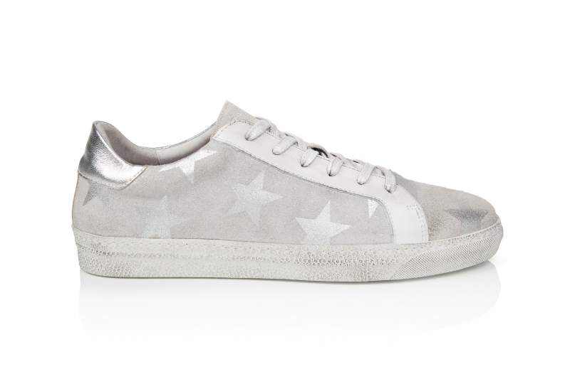 Cru White Star sneakers from Air & Grace