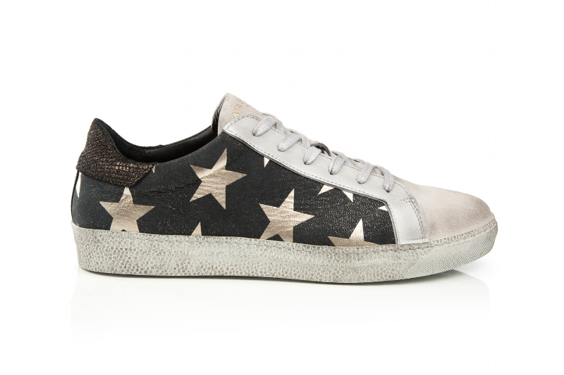 Cru Black Star sneakers from Air & Grace