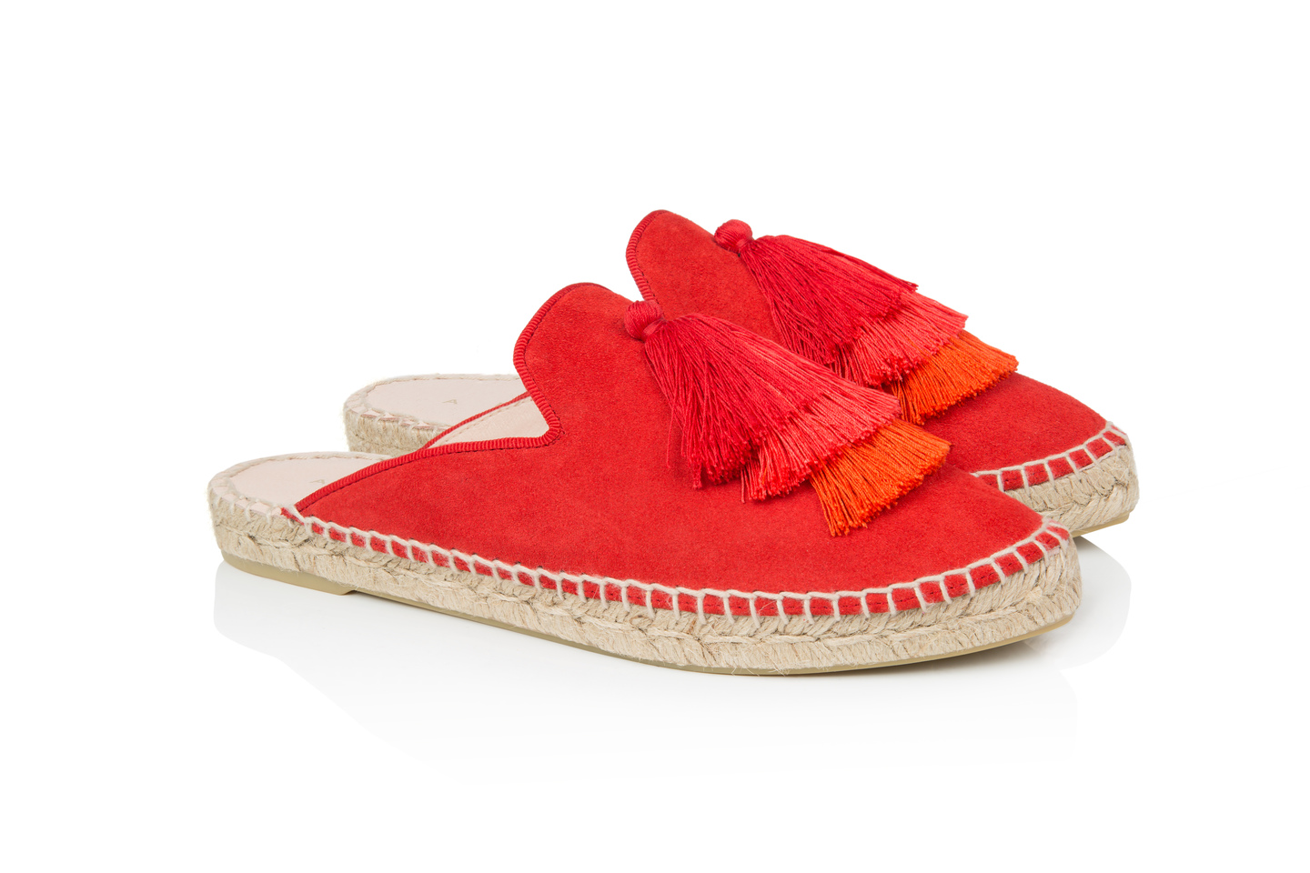 Souk Red suede espadrilles | Air & Grace