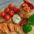 Vegan Sunflower Seed and Tomato Spread