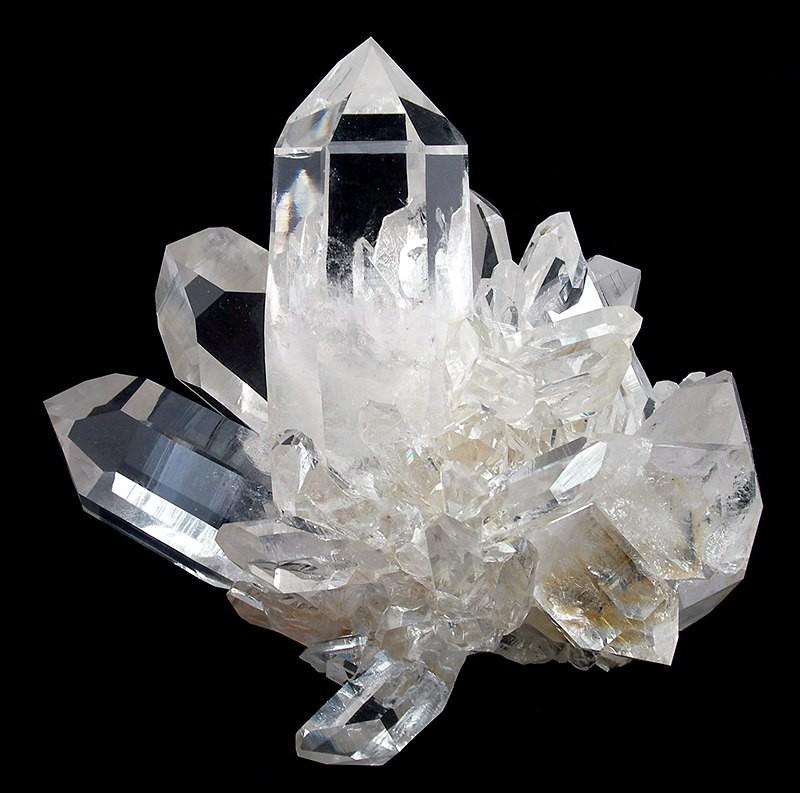 Clear Quartz with Fluorite necklace