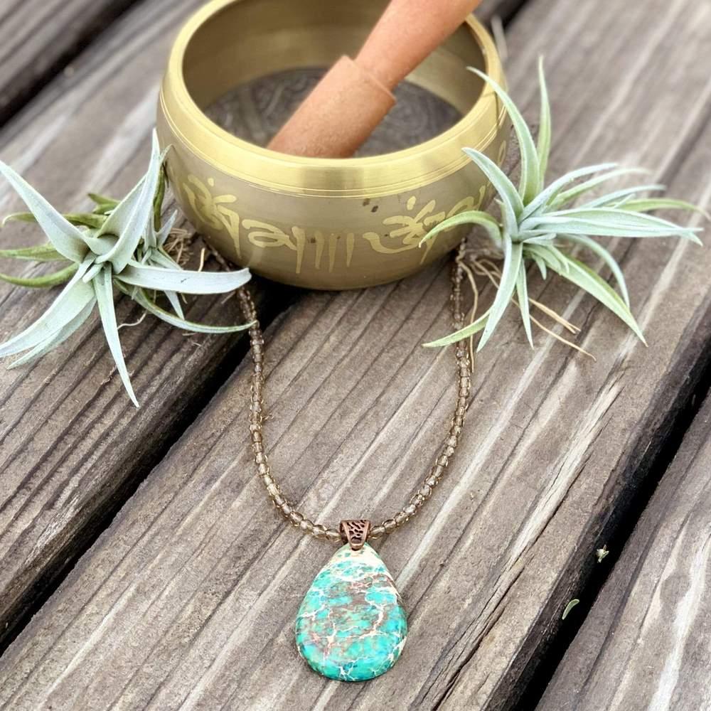 variscite necklace