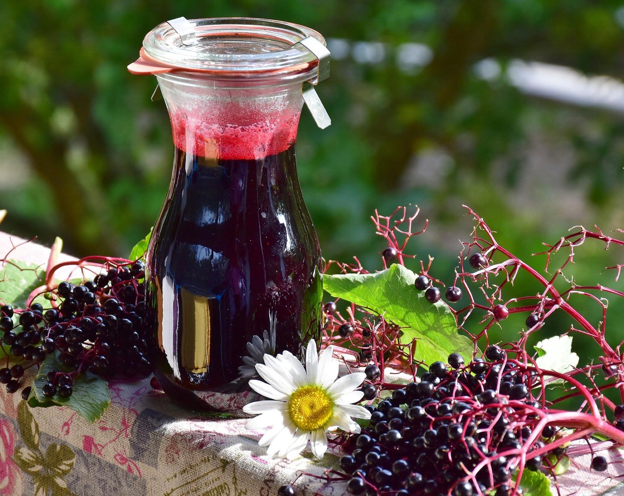Elderberry and the flu virus