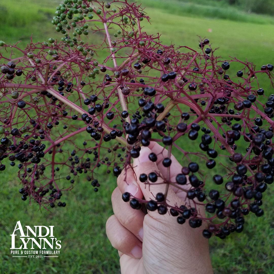 100 percent natural elderberry