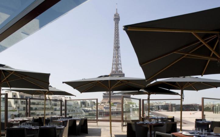 Ombres restaurant chic Paris Sortir vue panoramique