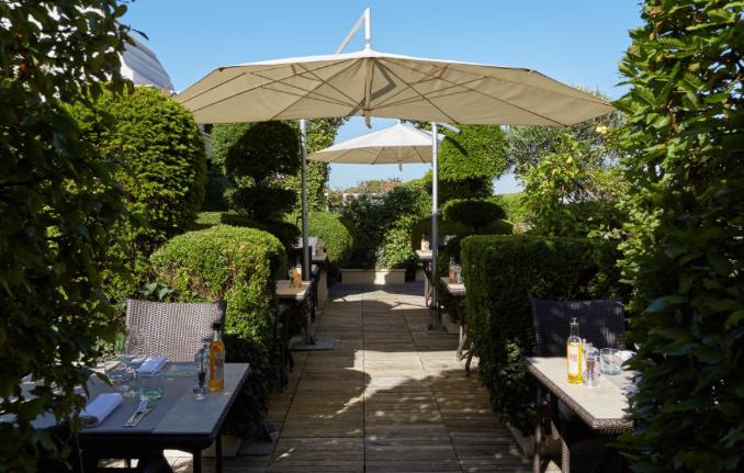 Hotel Raphael Luxe Sortir Chic Terrasse