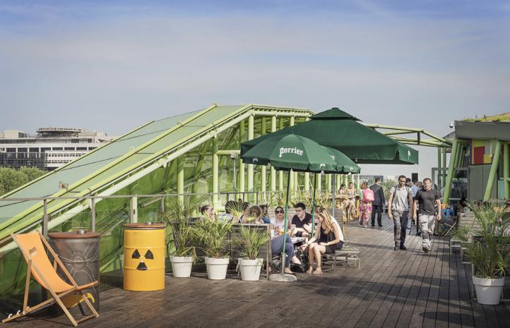 Café Oz rooftop où Sortir Paris terrasse éphémère wanderlust