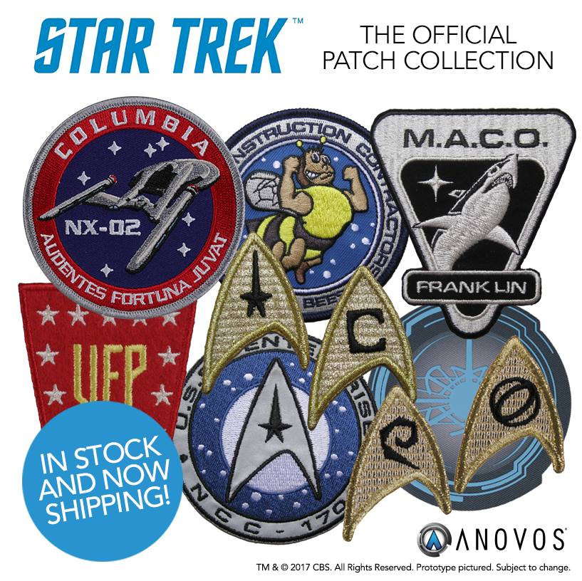 STAR TREK™: THE OFFICIAL PATCH COLLECTION!