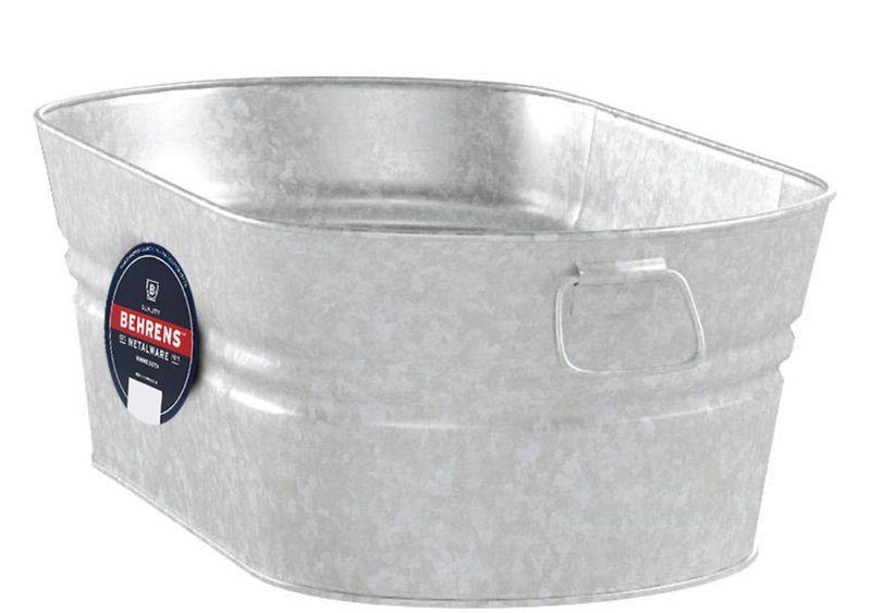 Mini pond steel tub