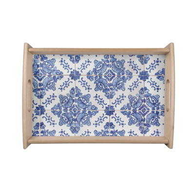 Click to view this Portuguese Tile classic blue home decor - affiliate link