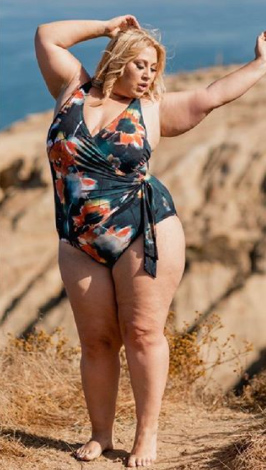 Artesands plus size curve swimwear Ju Jardin