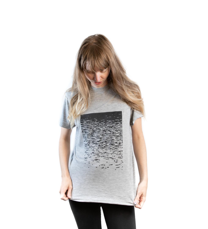 t-shirt reflet