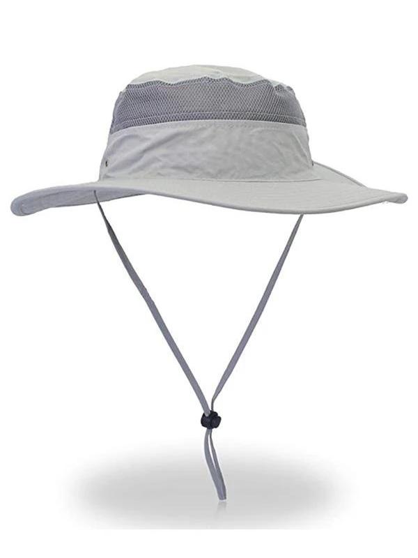 UNISEX OUTDOOR UPF 50+WIDE BRIM SUN HAT