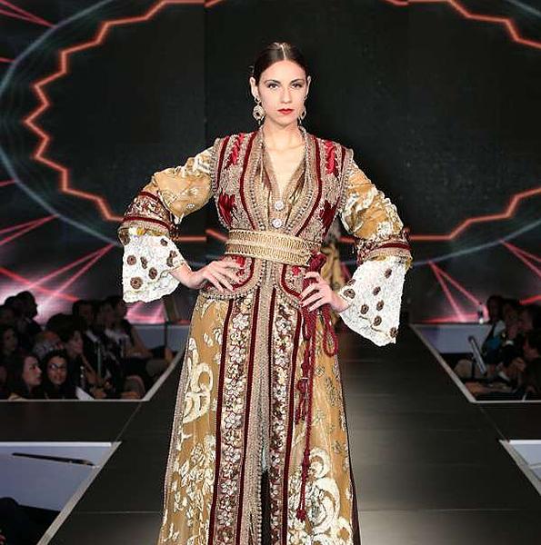 Moroccan designer caftan