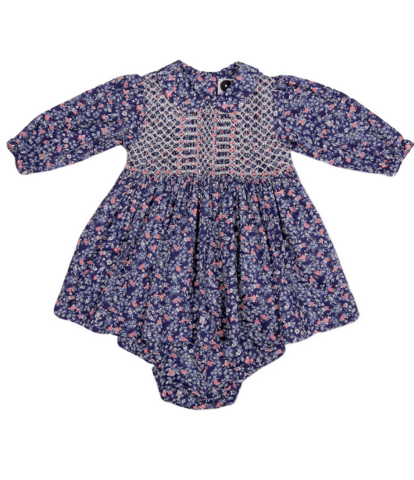 Question Everything Floral Smocked Dress