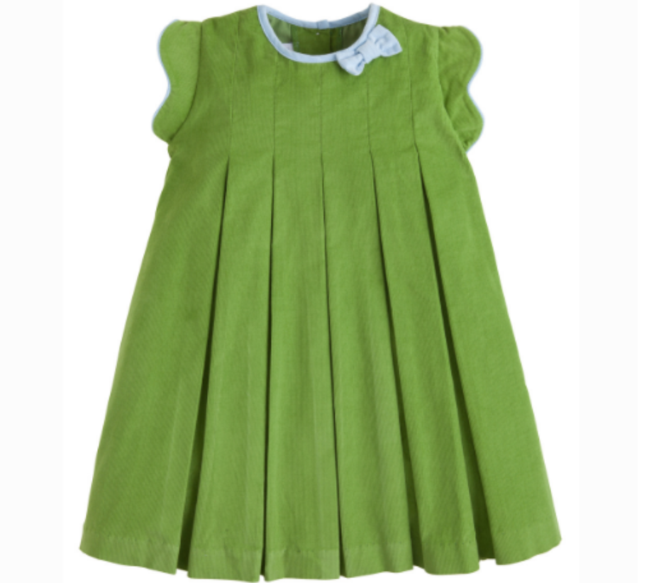 Little English Pleat Dress