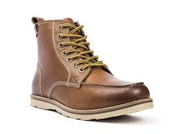 high ancle leather boot