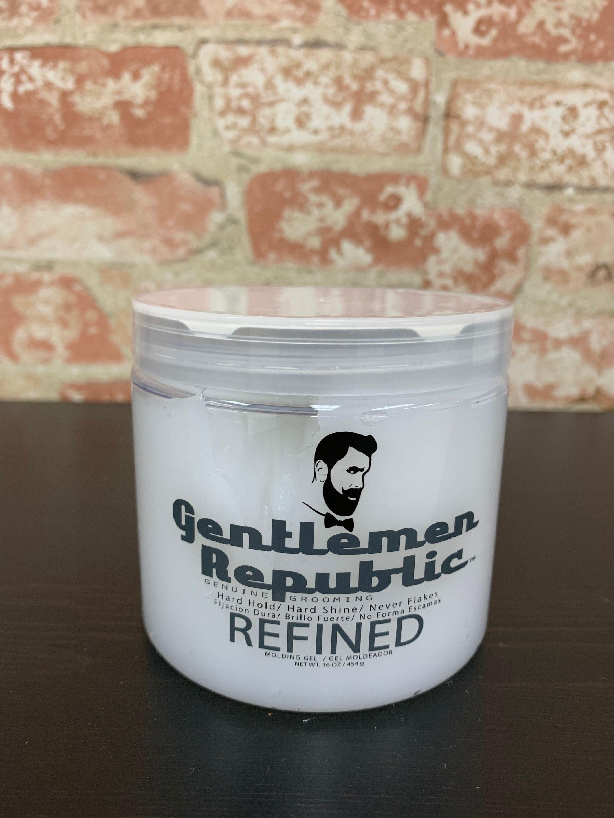 Refined hair modeling gel