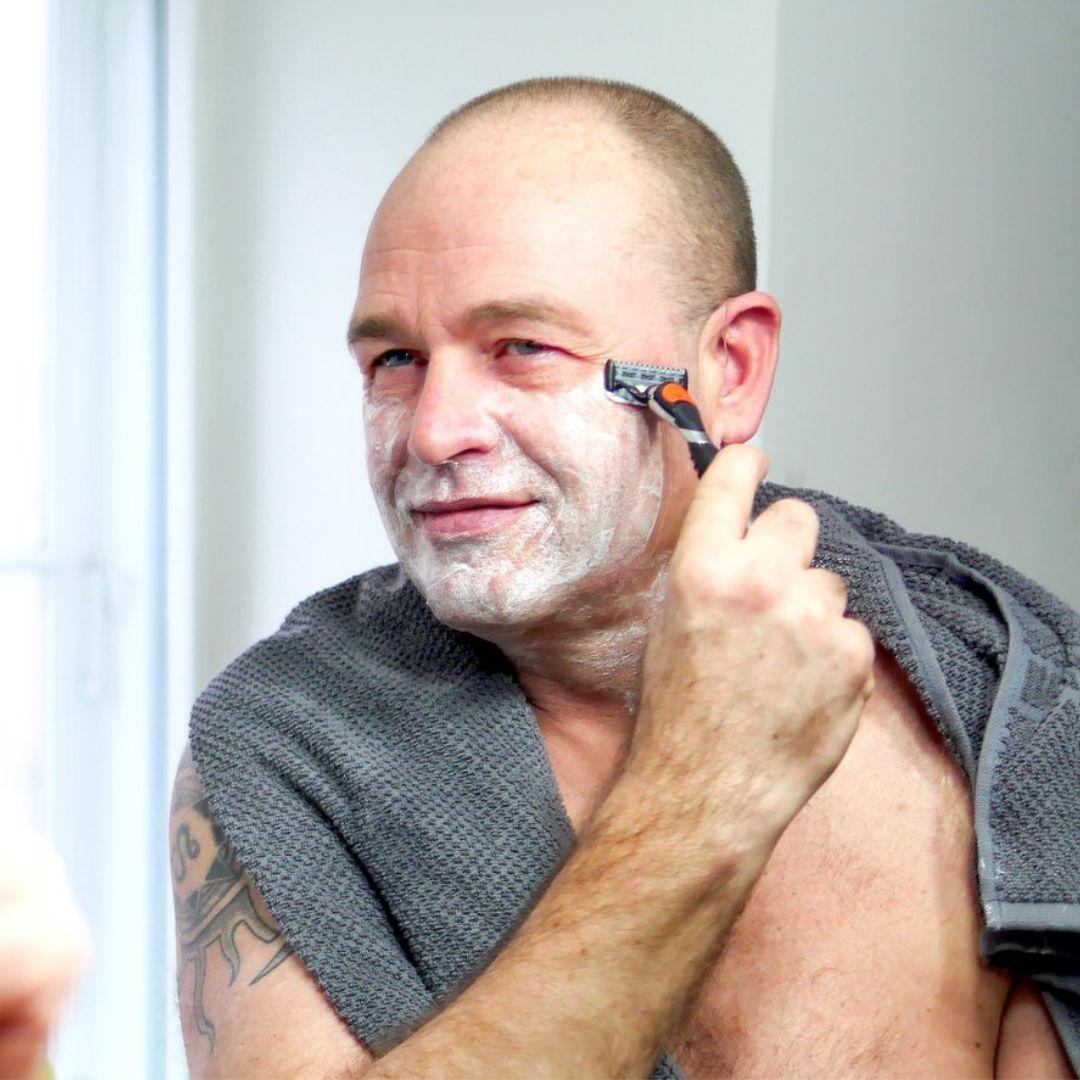 Undgå brændende fornemmelse efter barbering