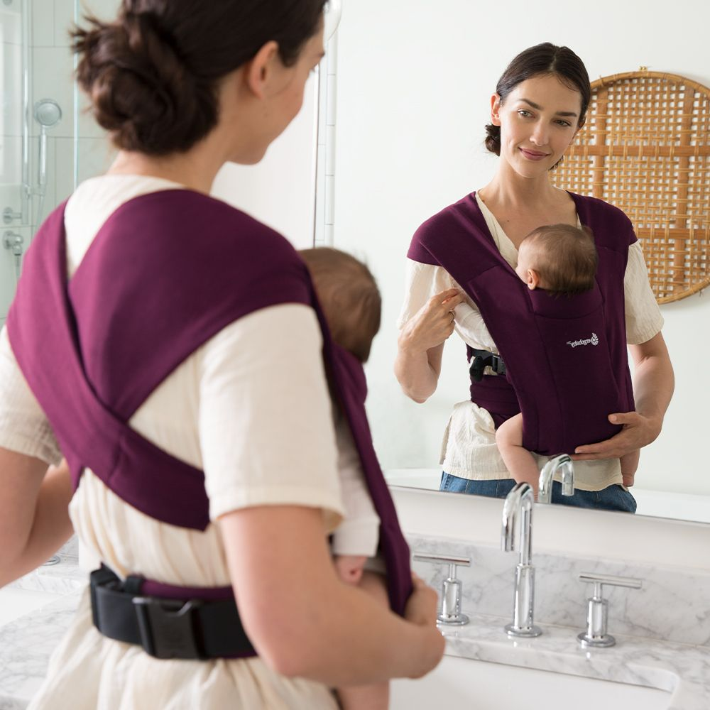 ergobaby embrace baby wearing carrier