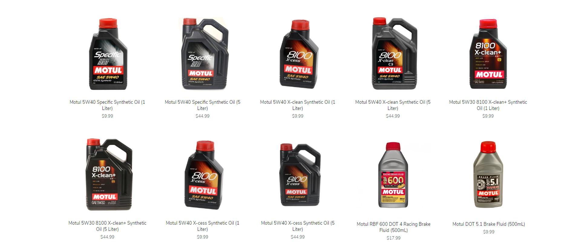 Motul Products