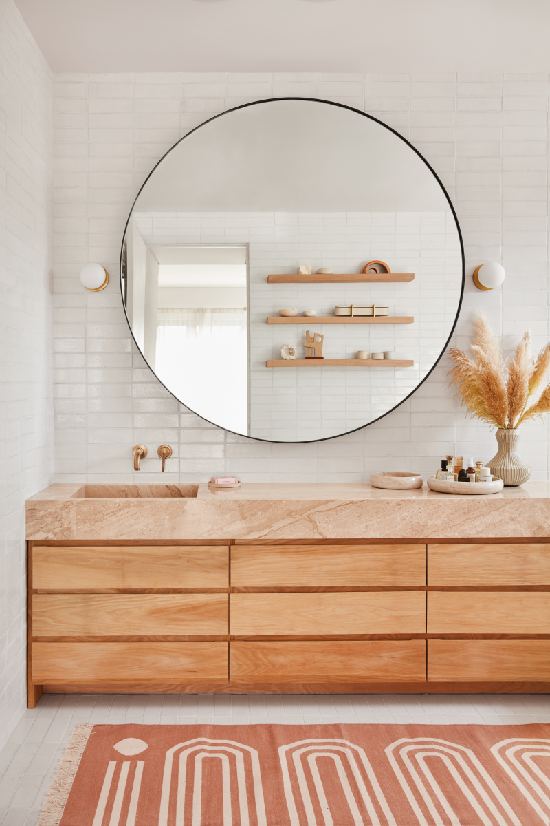 Modern Bohemian Bathroom Design