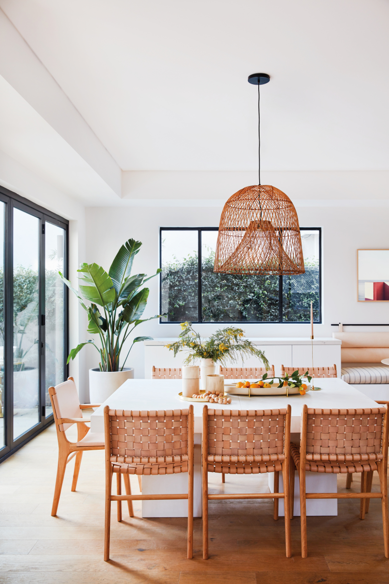 Blush Modern Dining Room
