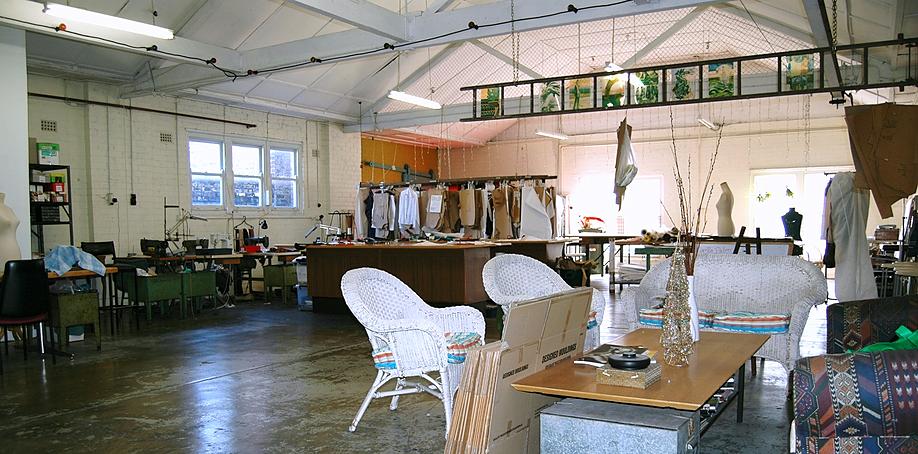 Former Studio Faro studio at St Peters, Sydney