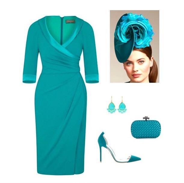 Invitation Jade Collar Sarong Dress