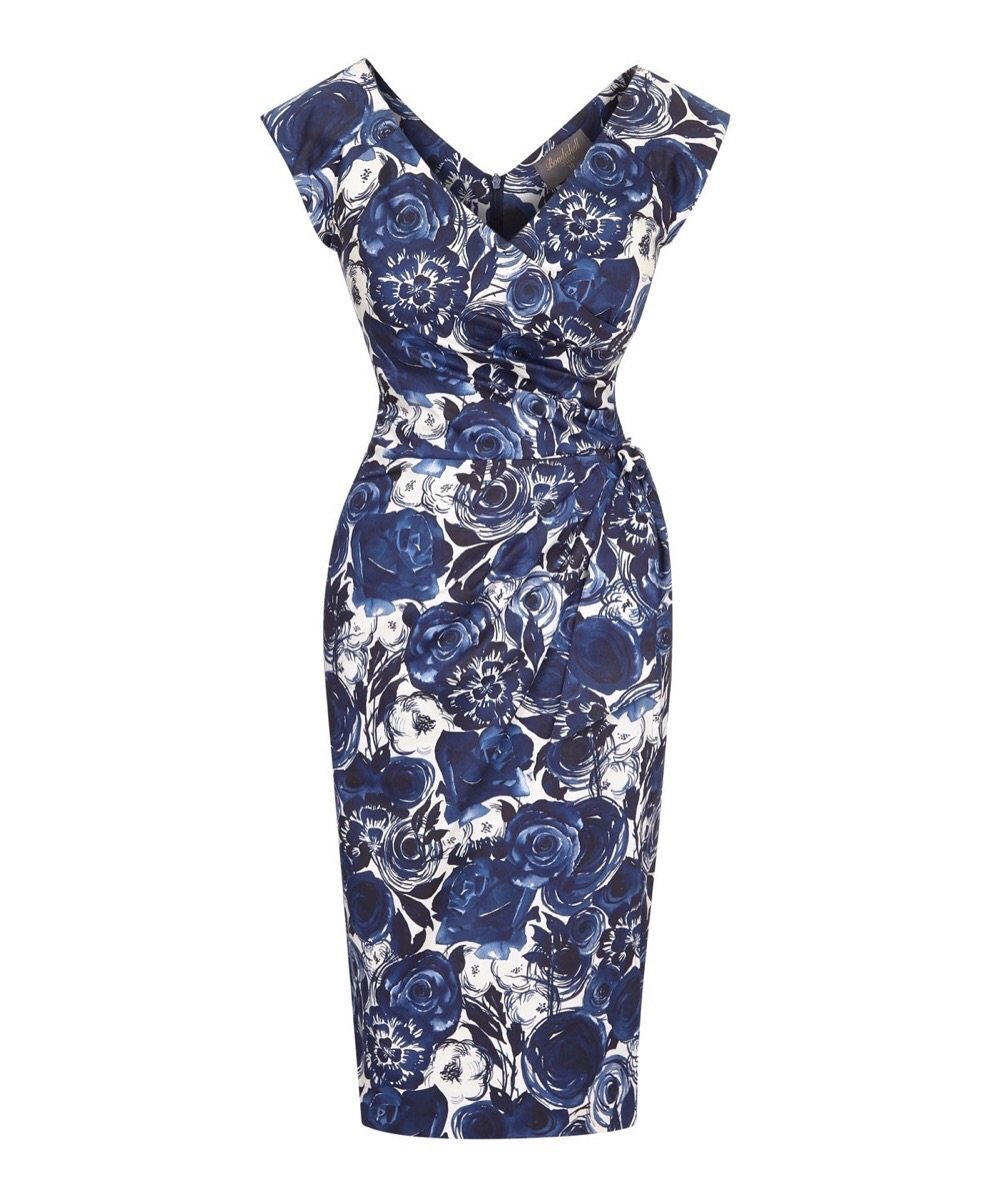 Toby Roses Confident Bombshell Cap Sleeve Dress