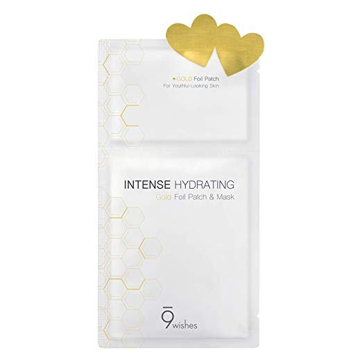9wishes Intense Hydrating Gold Foil Patch & Mask