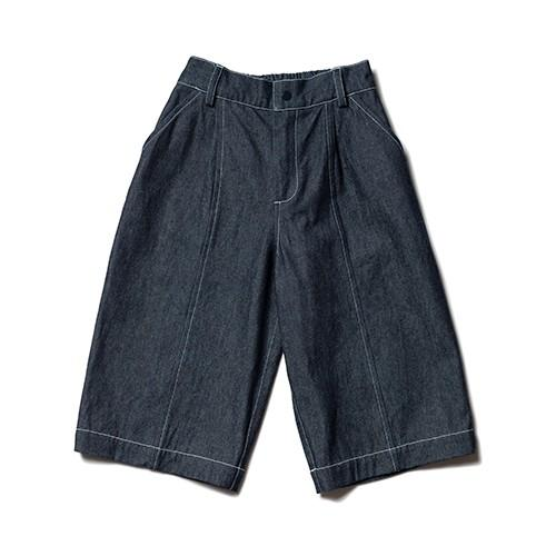 kids denim culottes