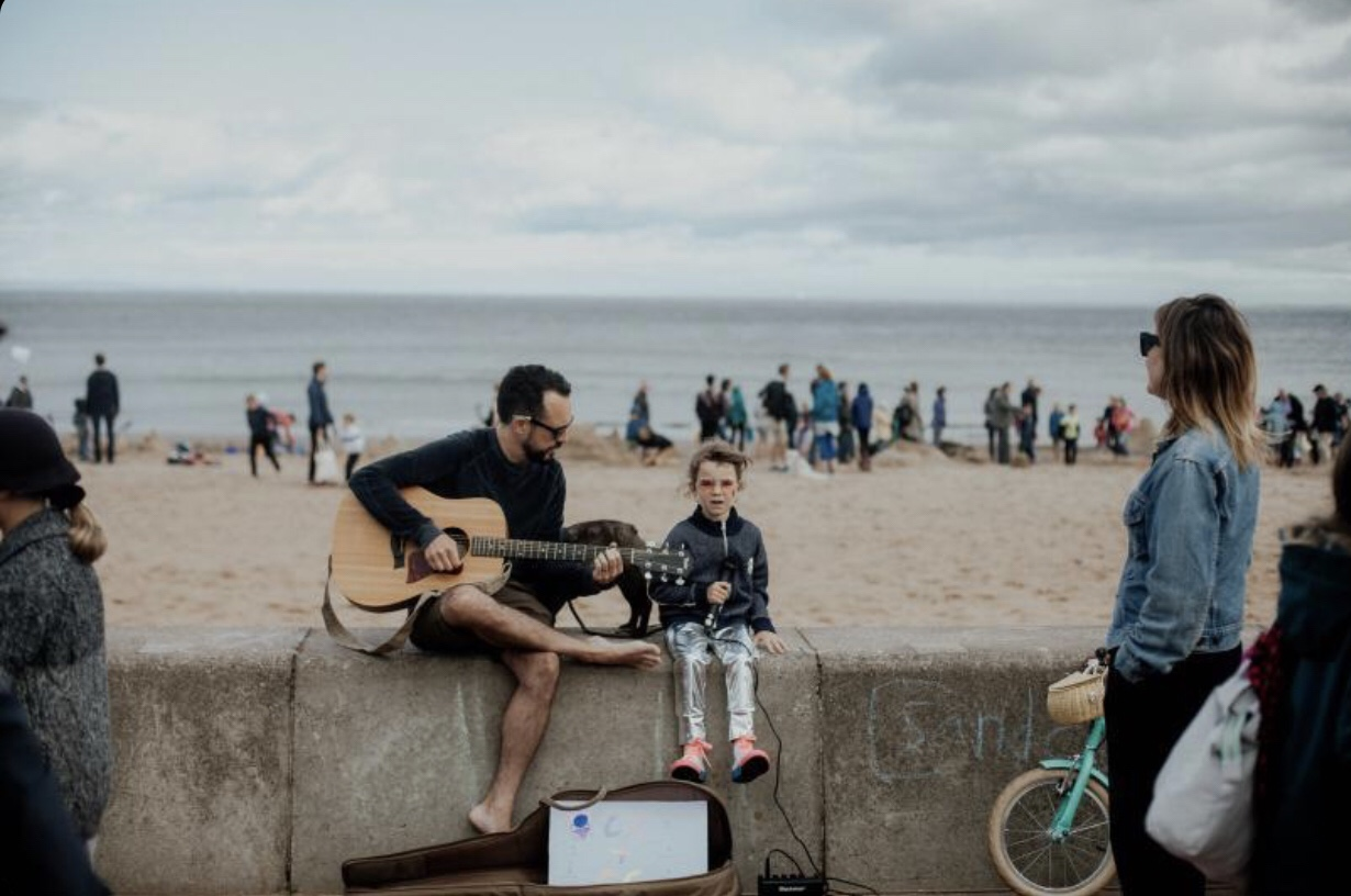 CC and GC Band - Big Beach Busk Portobello