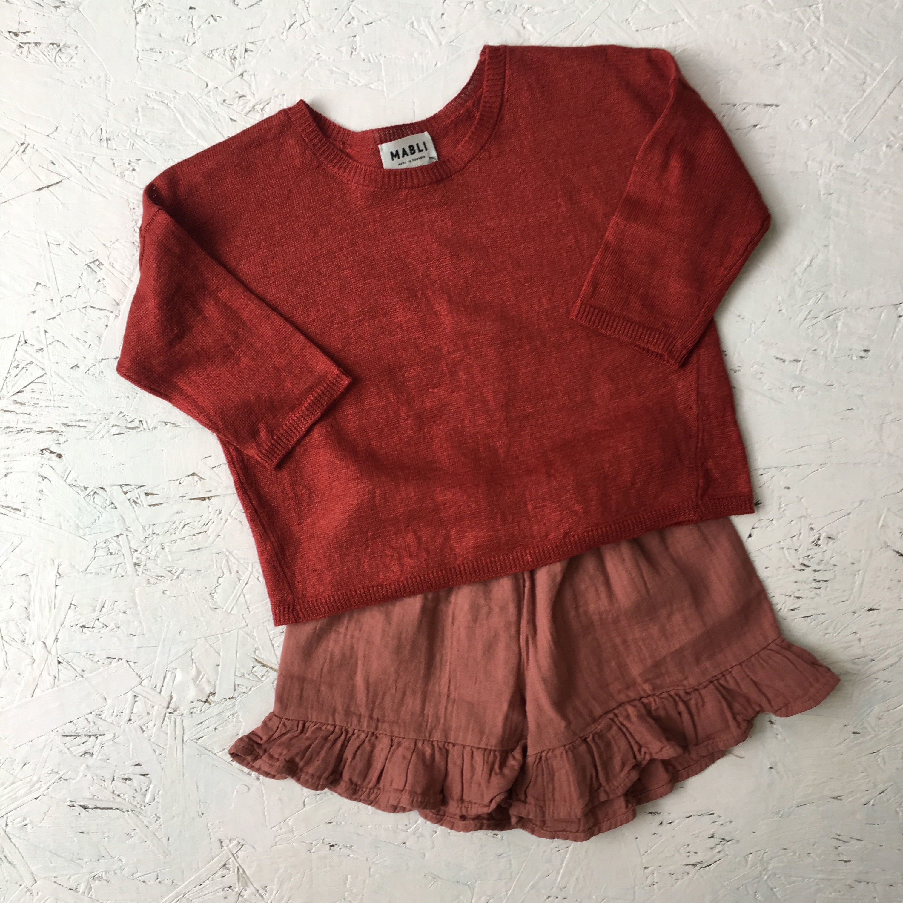 mabli knit sweater