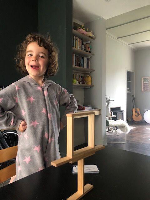 Kapla - Kids Wooden Plank Game - Bon Tot