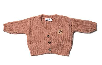 Baby Wool Cardigan - Bon Tot Baby Clothing Edinburgh
