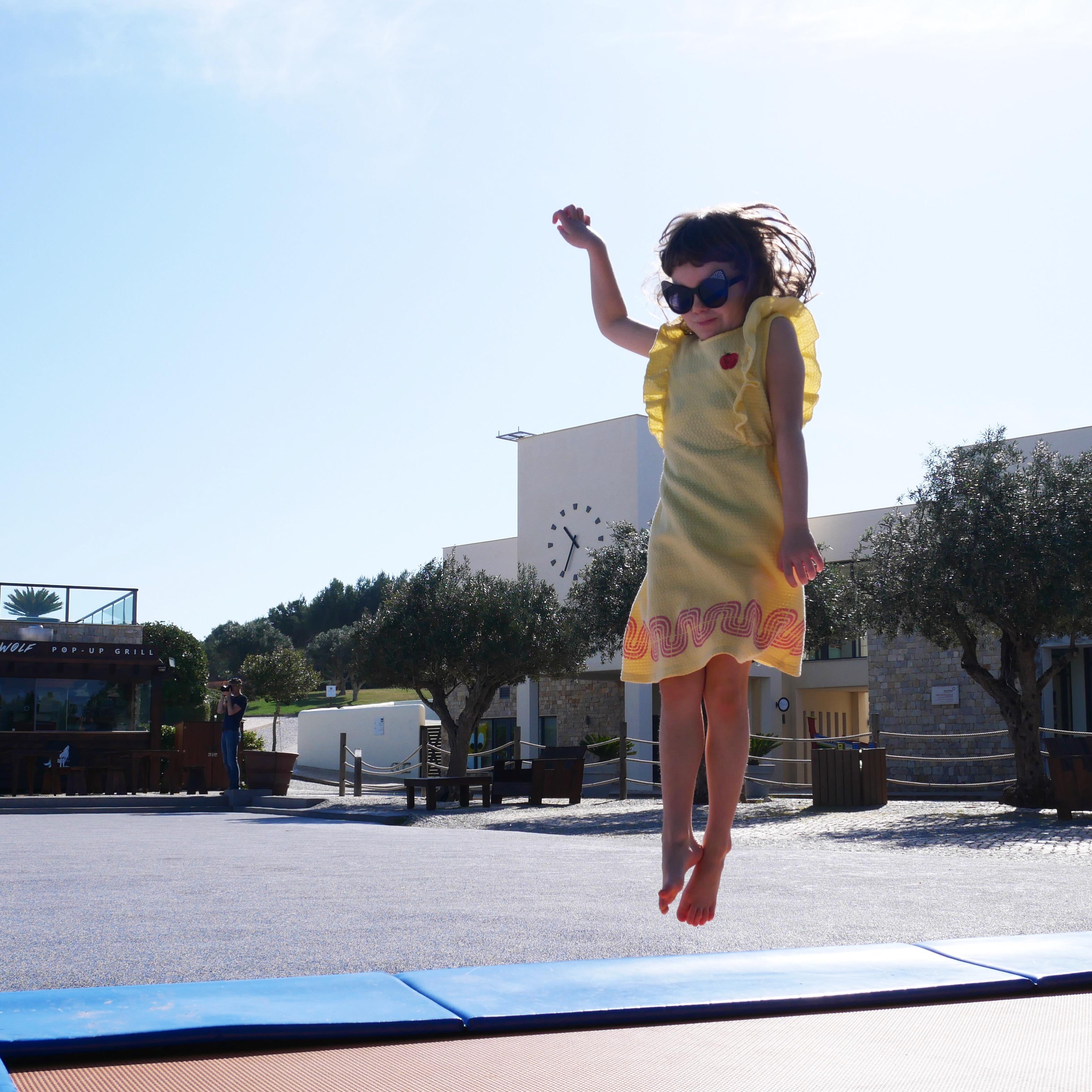 martinhal sagres trampoline