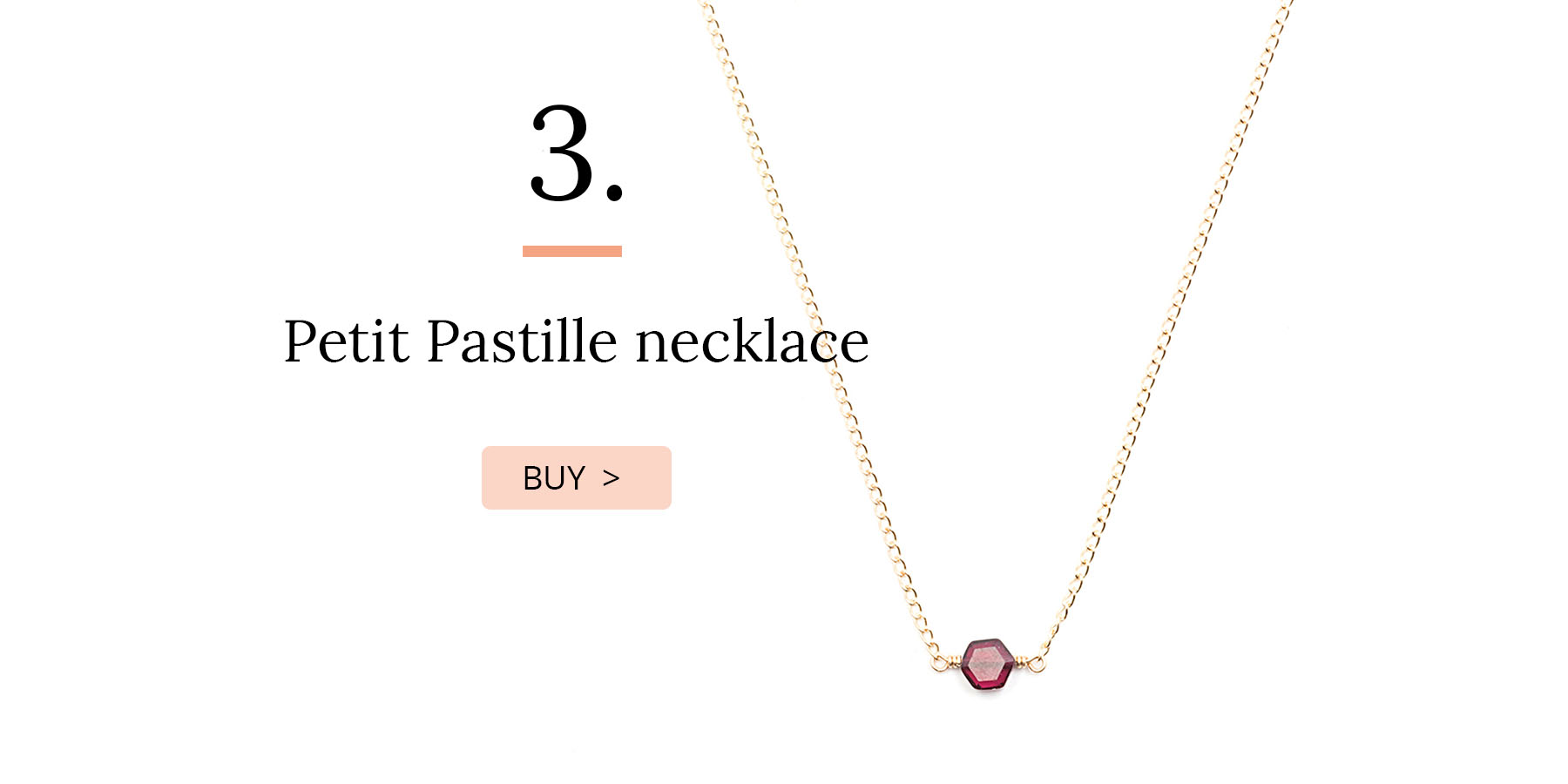 Petit Pastille necklace