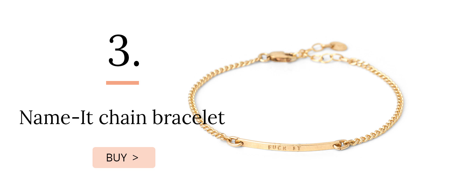 name-It chain bracelet
