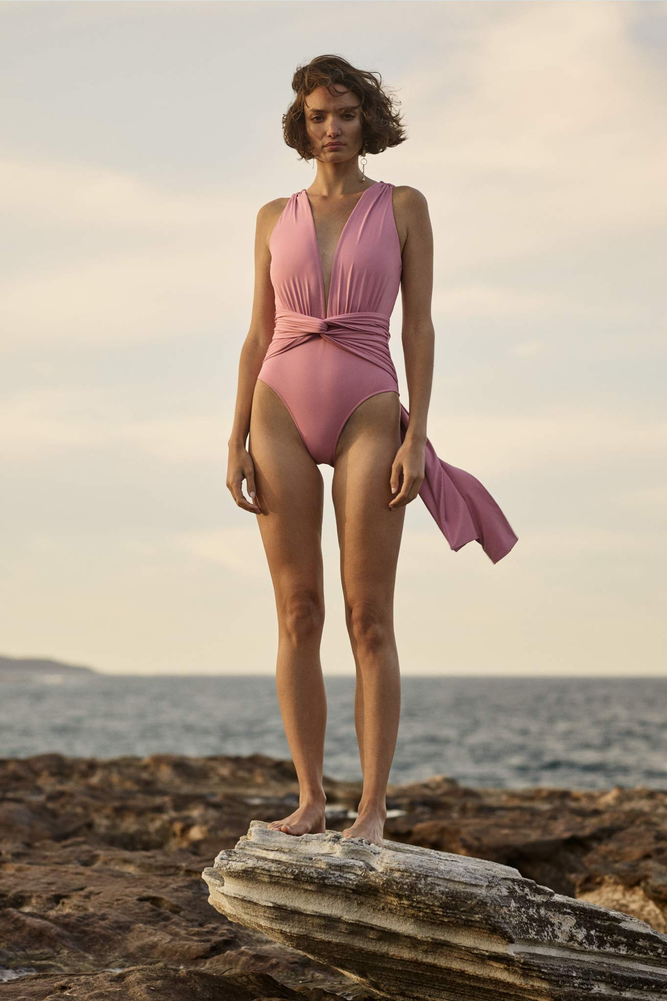 BONDI BORN Resort 20 Knots Collection uses luxury Italian fabrics that are sustainably produced. All swimsuits are made in Australia.