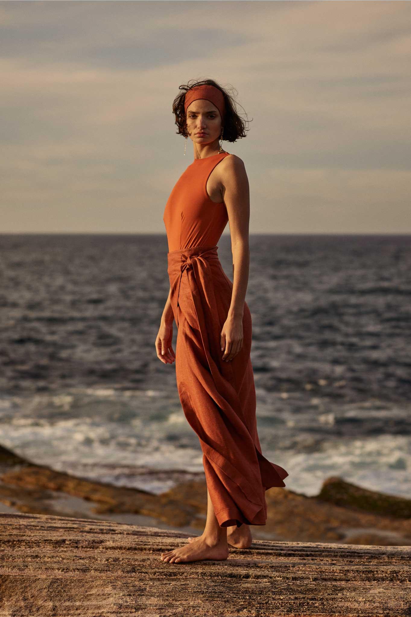BONDI BORN Australian made luxury swim and resort wear.