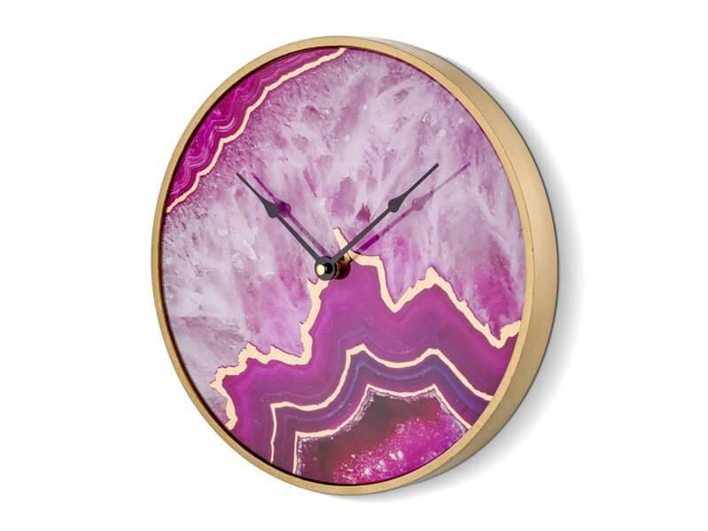 Ceas Rotund Violet 30 cm