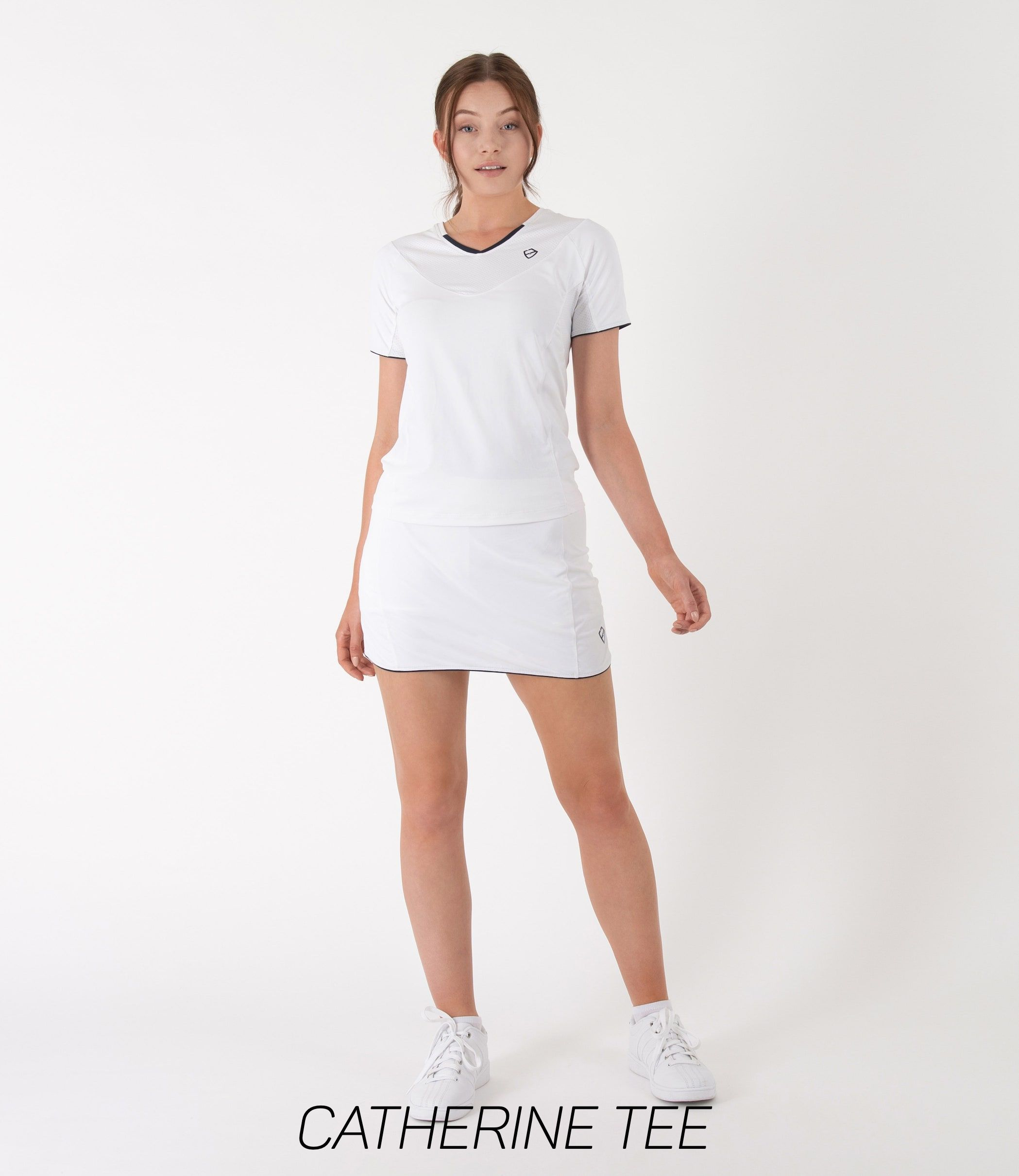 White Tennis T-Shirt Women's