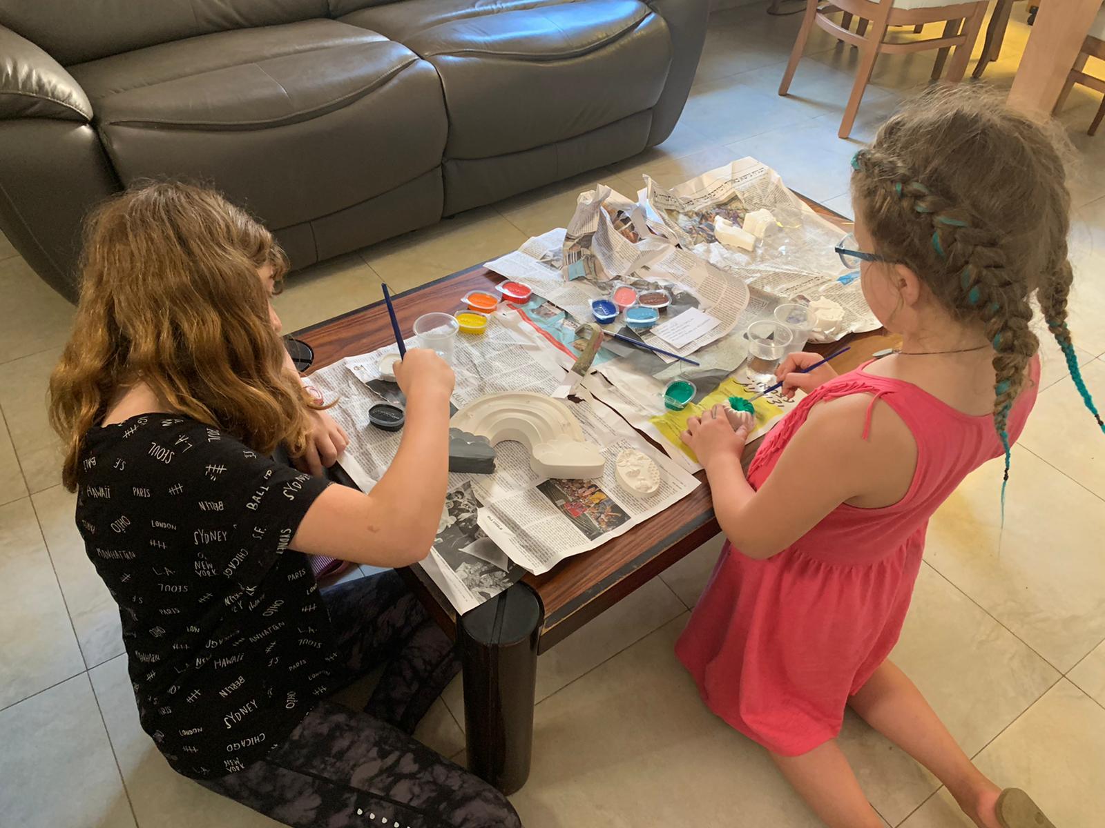 ערכת יצירה לילד יצירת גבס לילדים גבס להפעלת ילדים