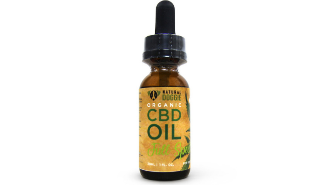 Natural Doggie Organic Full Spectrum CBD Oil