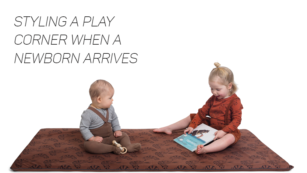 How to style a playroom when the new baby arrives