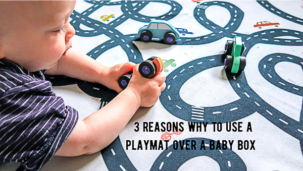 3 reasons why to choose a playmat over a baby box - ByAlex Play mat