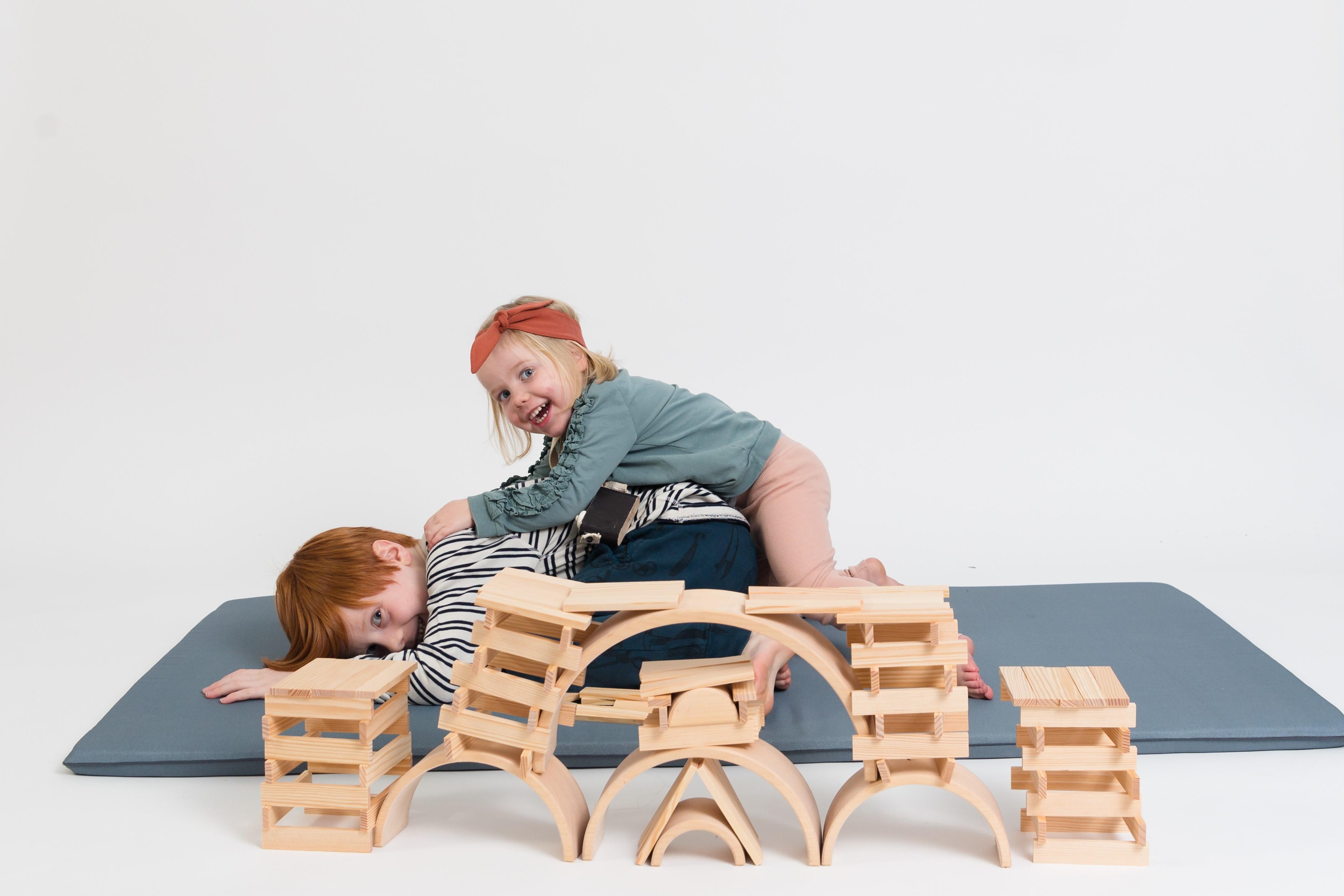 Speelmat samen spelen speelkleed