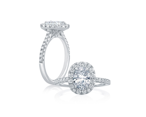 Beautiful Platinum Bridal Jewelry